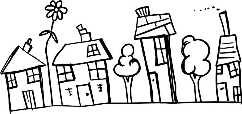 Normal Neighborhood Houses